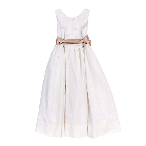 Whisper Linen-Empire Dress