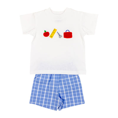 Back to School-Boys Short Set