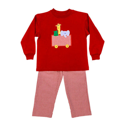 Zoo Animals-Boys Pant Set