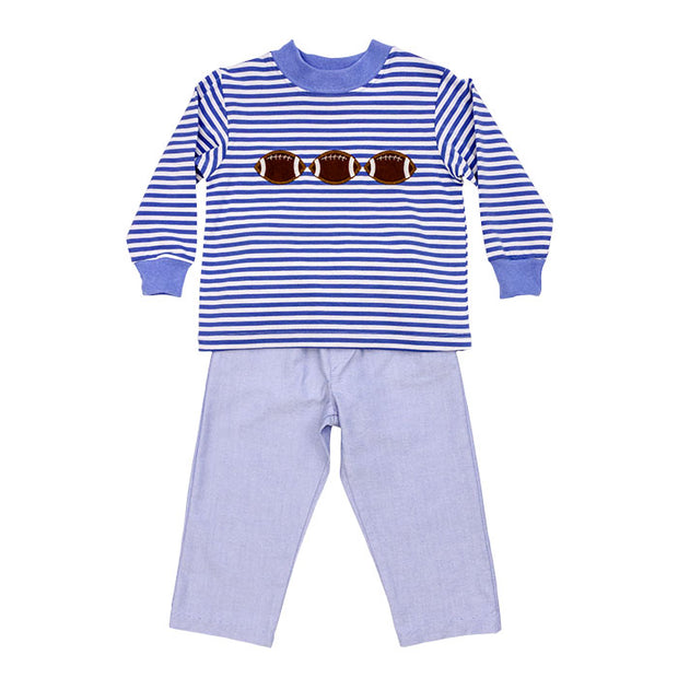 Football & Megaphone-Boys Pant Set