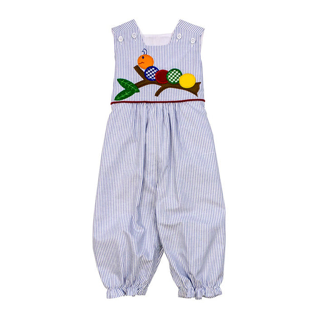 Wally Worm-Girls Romper