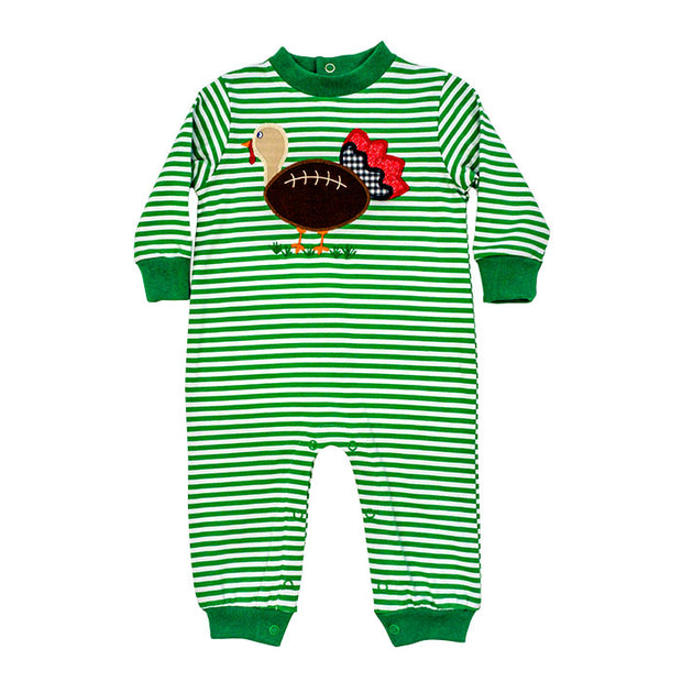 Touchdown Turkey-Coe Romper