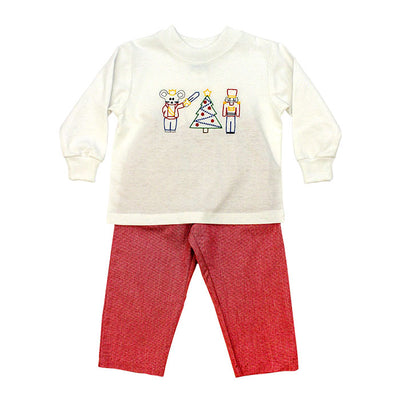Nutcracker Stitch-Boys Pant Set
