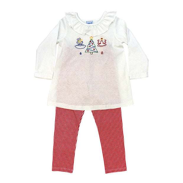 Nutcracker Stitch-Tunic Pant Set