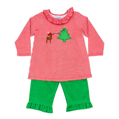 Christmas Lights-Tunic Pant Set