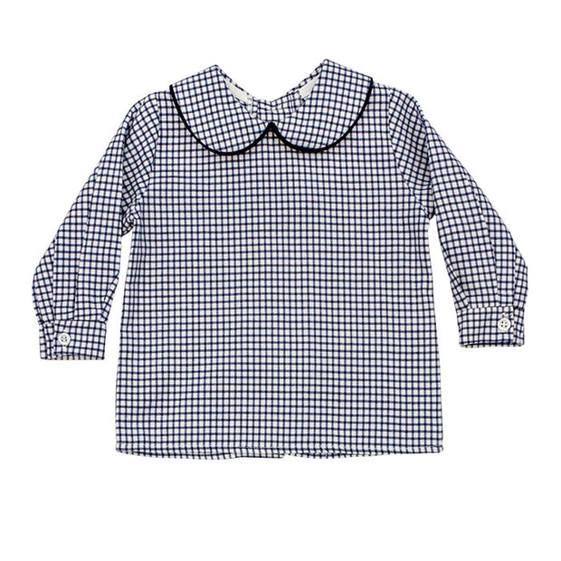 Sunday Best-Boys Piped Shirt