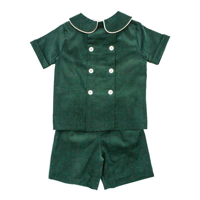 Cambridge Corduroy-Dressy Short Set