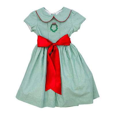 Holly & Wreaths-Jackie Dress