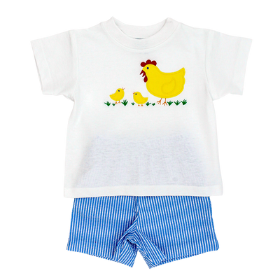 Mother Hen- Boys Short Set