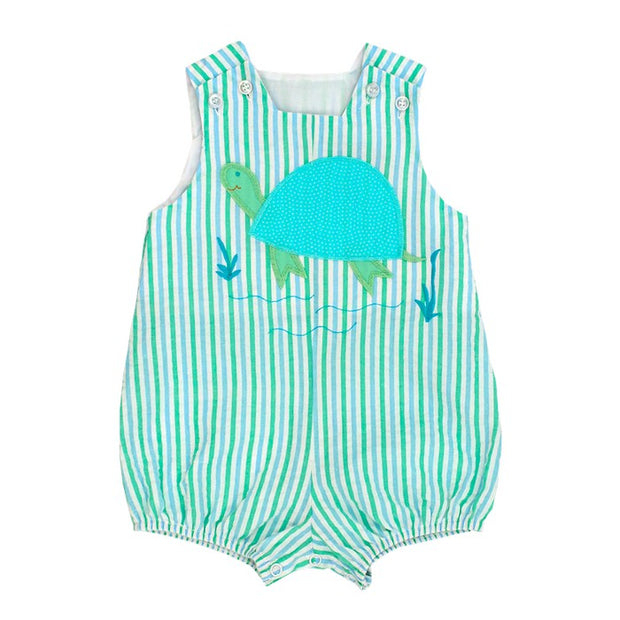 Tilly Turtle-Short Infant Bubble