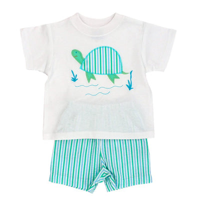 Tilly Turtle-Boys Short Set