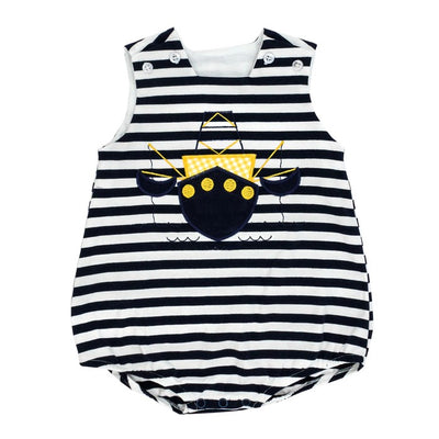 Shrimp Boat-Knit Infant Bubble