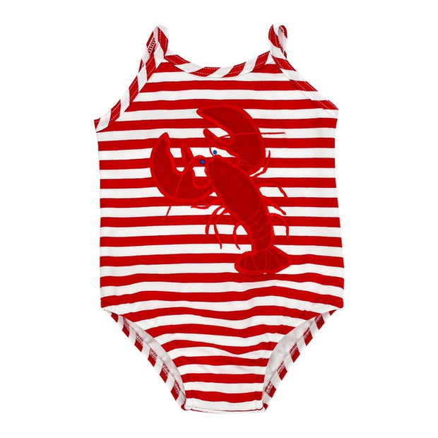 Lobster-Girls One Piece Swimsuit