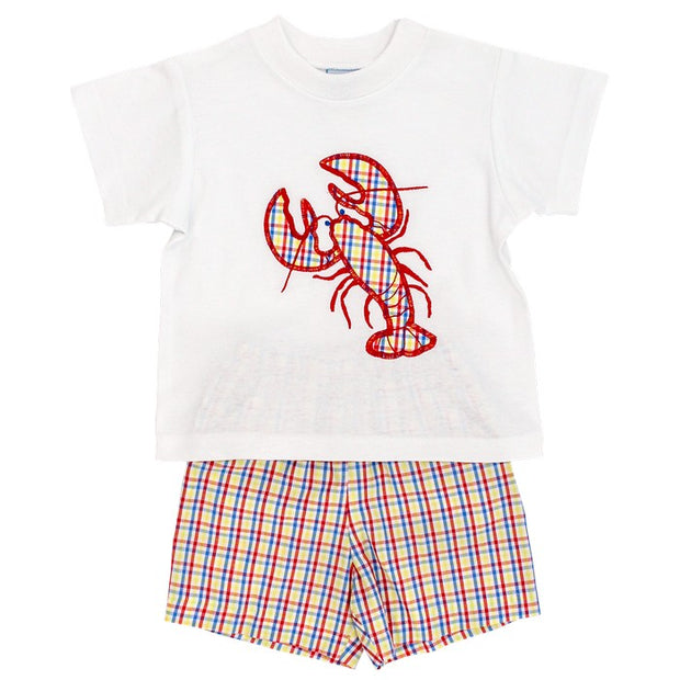 Lobster-Boys Short Set