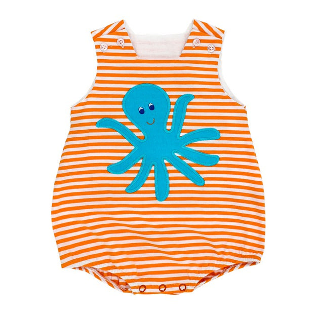 Oscar Octopus-Knit Infant Bubble