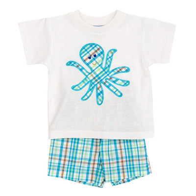 Oscar Octopus-Boys Short Set