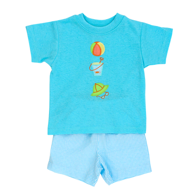 Beach Days- Boys Short Set