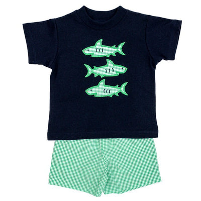 Shark Trio-Boys Short Set