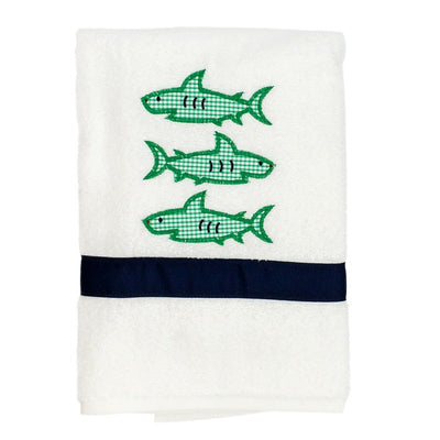Shark Trio-Boys Towel