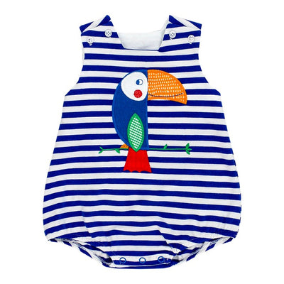 Toucan-Knit Infant Bubble