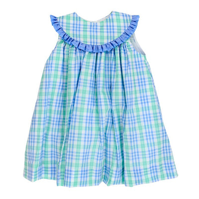 Watercolor Plaid-Float Dress