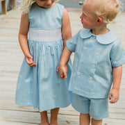 Blue Bonnet-Dressy Short Set