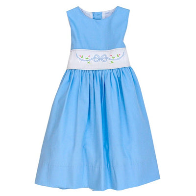 Blue Bonnet-Dress