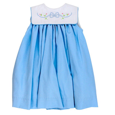 Blue Bonnet-Float Dress