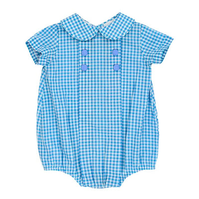 Coastal Gingham-Dressy Bubble Short