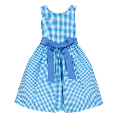 Coastal Gingham-Jackie Dress