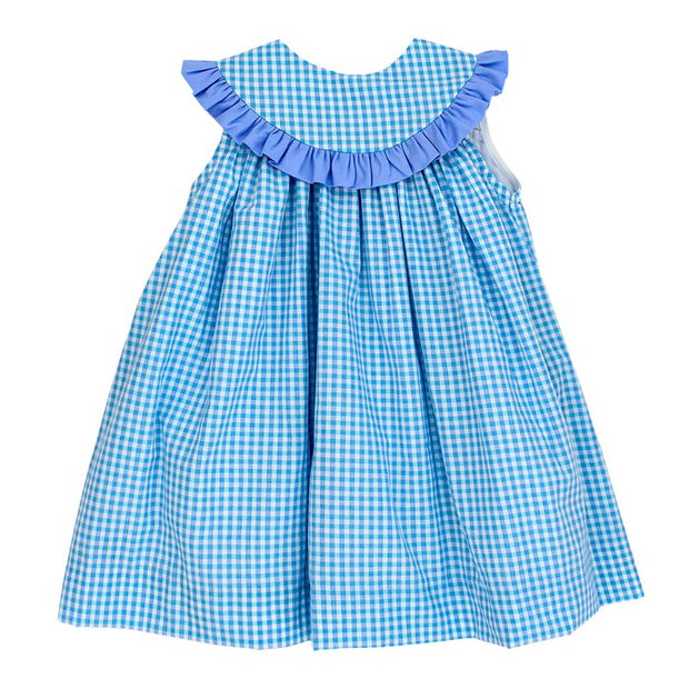 Coastal Gingham-Float Dress