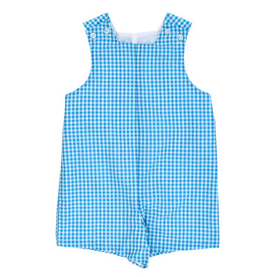 Coastal Gingham-John John with Tabs