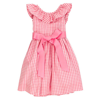 Ginghams Galore-Jackie Dress in Pink