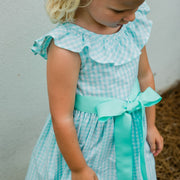 Ginghams Galore-Jackie Dress in Mint