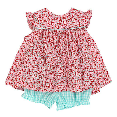 Perfect Poppy-Float Dress with Bloomer
