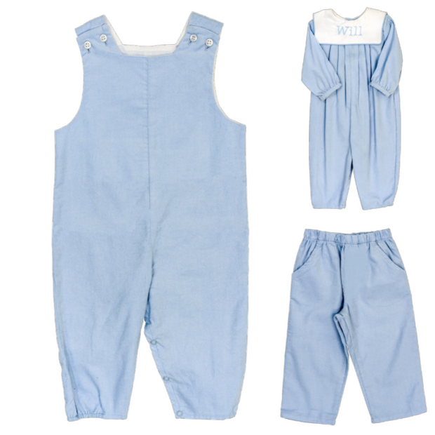 Light Blue Corduroy-John John