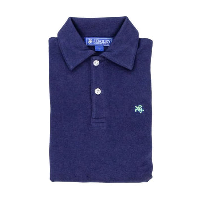 Henry Short Sleeve Polo-Navy