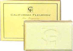 California Fleurish Natural Bar Soap 6oz. - Hampton Court Essential Luxuries
