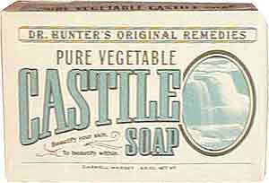 Caswell Massey Dr. Hunter's Pure Vegetable Castile Soap