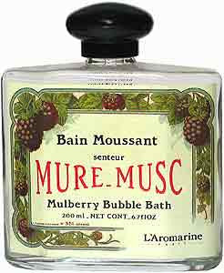 Outremer - L'Aromarine Natural Trend Bubble Bath - Mure Musc