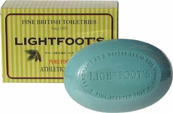 Lightfoot's Pure Pine Athletic Soap - England