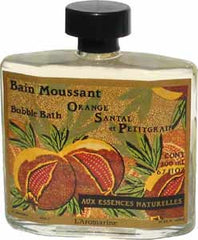 Outremer - L'Aromarine Natural Trend Bubble Bath-Orange Sandalwood - Hampton Court Essential Luxuries
