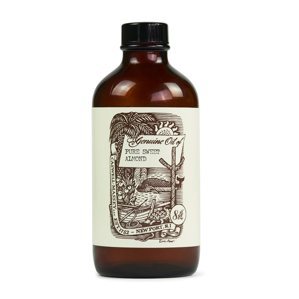 Caswell-Massey Pure Sweet Almond Oil 8oz (Ltd. Edition Label)
