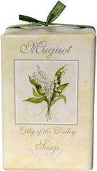 La Bouquetiere Muguet (Lily of the Valley) Soap - Hampton Court Essential Luxuries