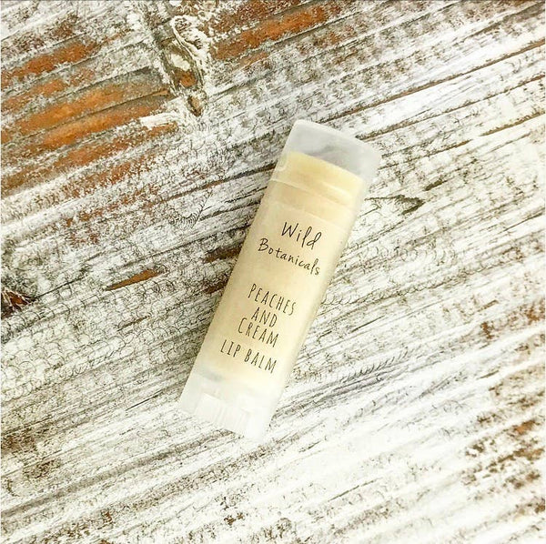 Wild Botanicals - Peaches and Cream Lip Balm