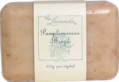 La Lavande Broyee Soap - Pamplemousse (Grapefruit w Peel) - 200gm - Hampton Court Essential Luxuries