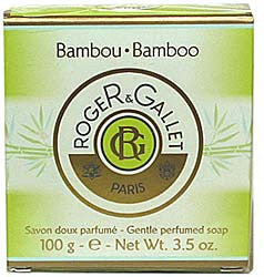 Roger & Gallet Bamboo Firming Soap