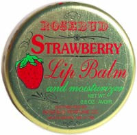 Smith's Rosebud Strawberry Lip Balm and Moisturizer - Hampton Court Essential Luxuries