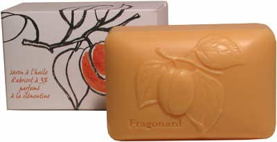 Fragonard Soap with Plant Oils - Apricot Oil & Clementine