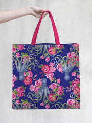 TokyoMilk Tote Bag - 20,000 Flowers Under the Sea Market Tote